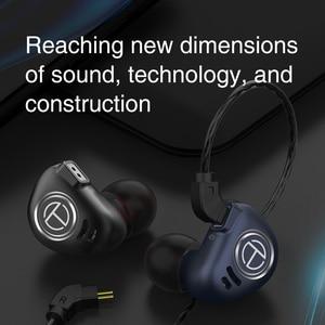 Image 2 - טורנירים V90 4BA + 1DD היברידי IEM 5 נהג Untis מתכת באוזן אוזניות אוזניות Auriculares HIFI צג ספורט ריצה שלב 2Pin V80