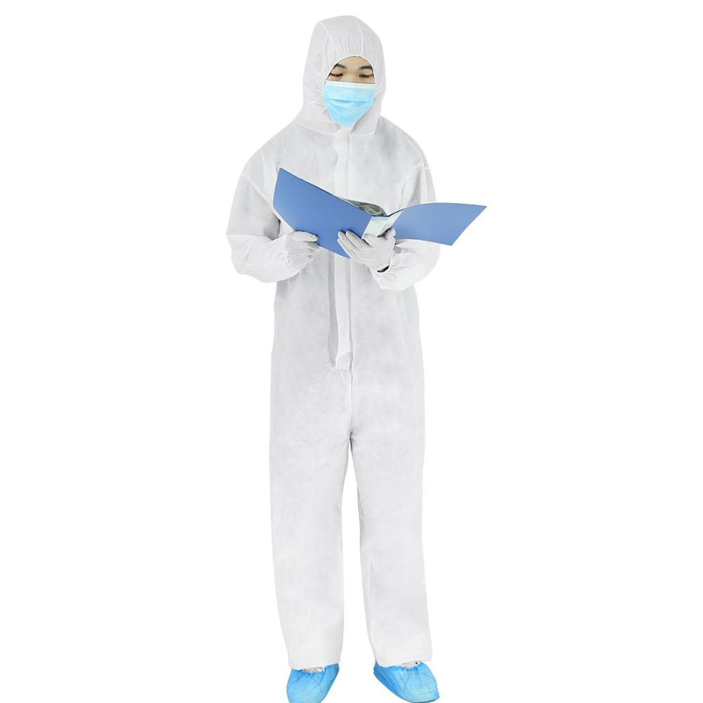 Thick and Durable Medical Protective Clothing and Isolation Suit Made of Non Woven Material