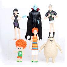 Miniko 6 adet/takım film otel 3 aksiyon figürü oyuncakları çocuk Dracula Johnny Dennis Mavis Frank oyuncak çocuk cadılar bayramı çocuk hediye