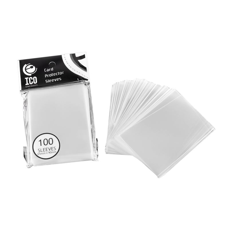 100pcs/pack 65*90mm Transparent Card Protector Sleeves ID Card Holder Wallets Purse Business Credit Card Protector Cover Bags