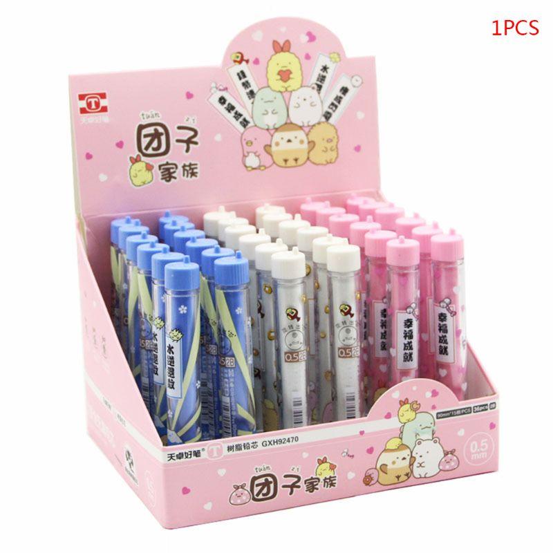 5pcs HB 2B Refill Lead For Automatic Mechanical Pencils School 0.3//0.5//0.7//0.9mm