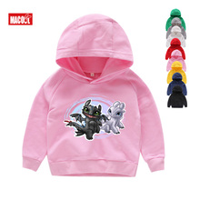 kids Hoodies boys girls cool Pocket Toothless Cute Fashion How To Train Your Dragon Cartoon Clothes Sweatshirts 3 6 Year