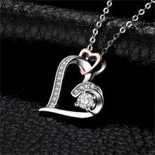 Sterling Silver Choker Infinity Heart Pendant Jewelry