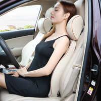 Reposacabezas de coche almohada de cuello almohada para viajar en auto suministros de interior accesorios de espuma de memoria universal cómodo