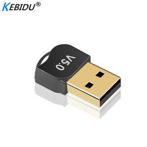 Image 3 - Kebidumei usb adaptador bluetooth v5.0 modo duplo sem fio bluetooth dongles música receptor de som adaptador transmissor bluetooth