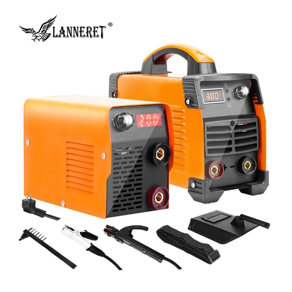 LANNERET Schweißen Maschine 5.2KVA Serie DC Inverter ARC Elektrische Schweißer für Schweiß Arbeiten für Löten Arbeit Weldi