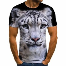 2020 New T-shirts short Sleeve Men Clothes Hip Hop Tops Fashion Casual Tigers T-shirts Summer Fashion 3D Printing dropshipping