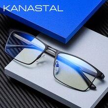 Anti Blue Light Computer Glasses Men  Women Spectacle Frame Gaming Eyewear for Men UV400 Radiation-Resistant Clear Glasses