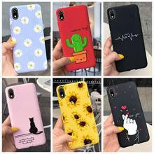 Coque de téléphone Huawei pour Honor 8S, nouvelle mode, motif marguerite, amour, cœur, bonbon, souple, peinte, Fundas, pour Honor 8S S8 8C 8 Lite, 2020