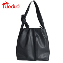 Fashion Trend Soft Leather Women Tote Bags for Women Handbags Over Shoulder Casu