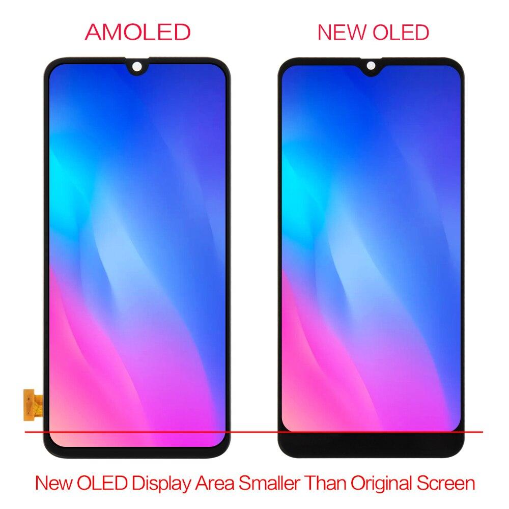 AMOLED экран для Samsung Galaxy A70 LCD сенсорный дигитайзер Сенсорное стекло в сборе для Samsung A70 дисплей A705 A705F A705FD - 2