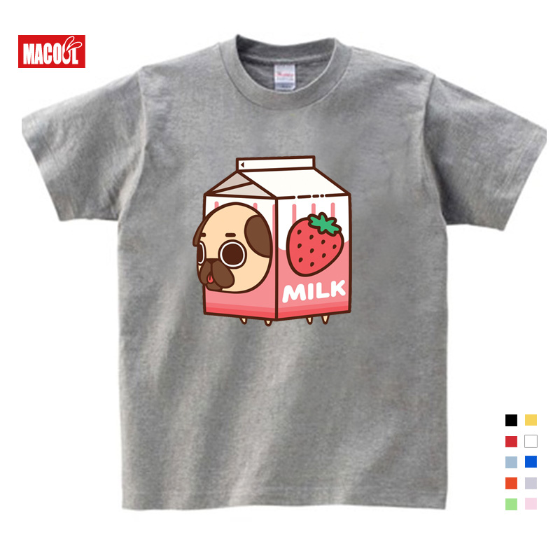 Детская одежда для маленьких девочек на Лето Щенок коробки тортов