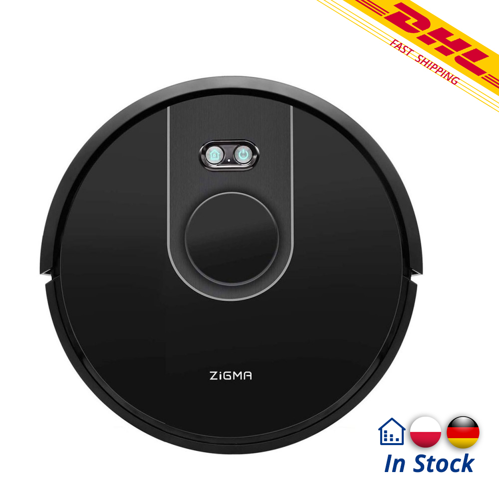 Zigma Spark Robot Vacuum Cleaner Alexa Google Home Compatible LDS Navigation APP Control Dust Collector VS Viomi V2/V2P image