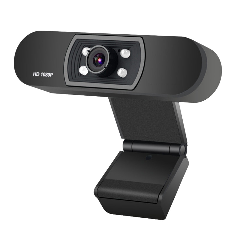 1080P USB Webcam in Clip-on Design with Built-in Noise Isolating Microphone 9