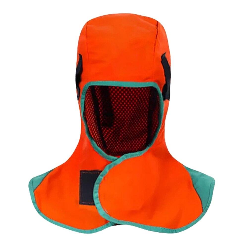 Breathable Welding Headgear Washable Protection Hood Flame Retardant Helmet Practical Welder Cap Cover For Welder Protect Faces