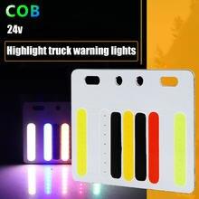 24v camion da corsa luci dei freni luci lampeggiante impermeabile led luci laterali camion anti-collisione lampada fanale posteriore del rimorchio di fascia luci