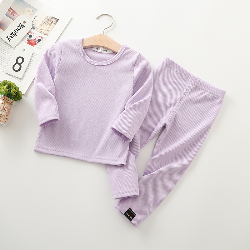 New Fashion Baby Girl pajamas For Kids Boys Children Clothes Autumn Winter Toddler Set Pink Soft Comfortable Long sleeve 7 Years (9)