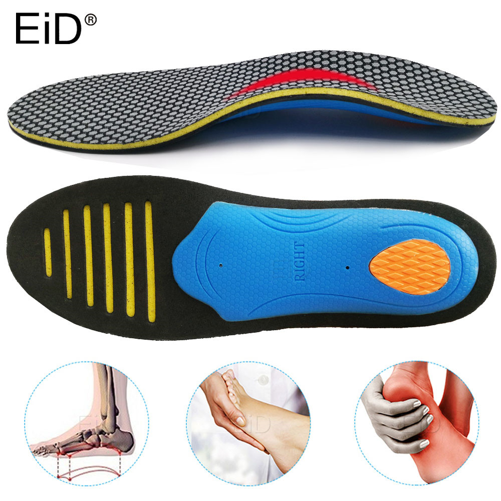 EiD High Quality EVA Orthotic Insole For Flat Feet 3D Arch Support Orthopedic Shoes Sole Insoles For Men And Women Shoe Pads