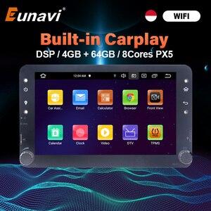 Image 1 - Eunavi Android GPS para coche Multimedia para Alfa Romeo 159 Brera 159 Sportwagon Auto Radio Audio estéreo TDA7851 wifi