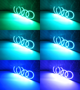 Image 5 - Excellent RF remote Bluetooth APP Multi Color Ultra bright RGB LED Angel Eyes For Toyota Avensis T25 2003 2004 2005 pre facelift