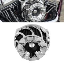 Воздушный фильтр для мотоцикла с ЧПУ для Harley Sportster XL883 1200 48 Softail Heritage Touring Big Twin Cam Road Glide Dyna