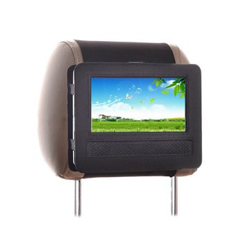 Car Headrest Mount Stand Holder Bag For Portable DVD Player 9 inch 10 inch