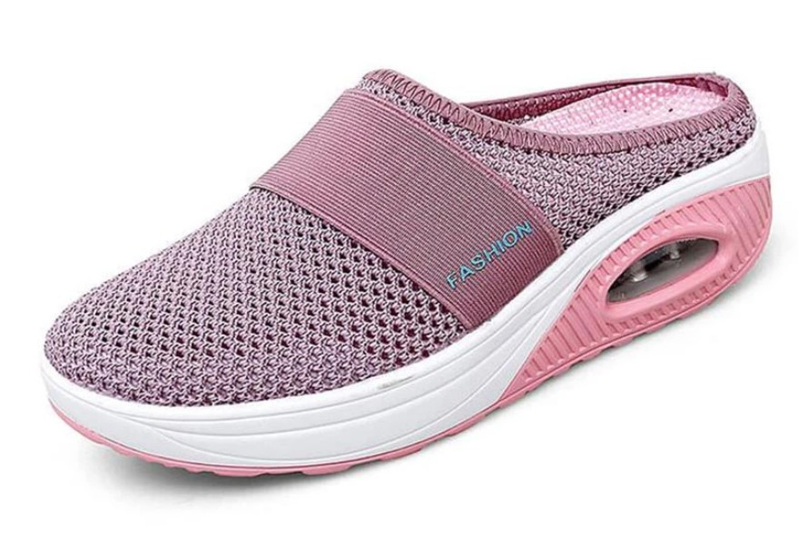 New Women Shoes Casual Increase Cushion Sandals Non-slip Platform Sandal For Women Breathable Mesh Outdoor Walking Slippers 42 10