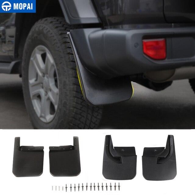 Momai garde boue pour Jeep Wrangler JL 2018, garde boue avant et arrière, accessoires garde boue