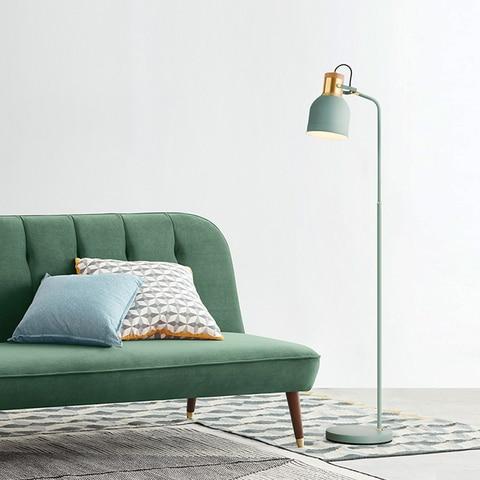 minimalista criativo lampada de assoalho quarto sala