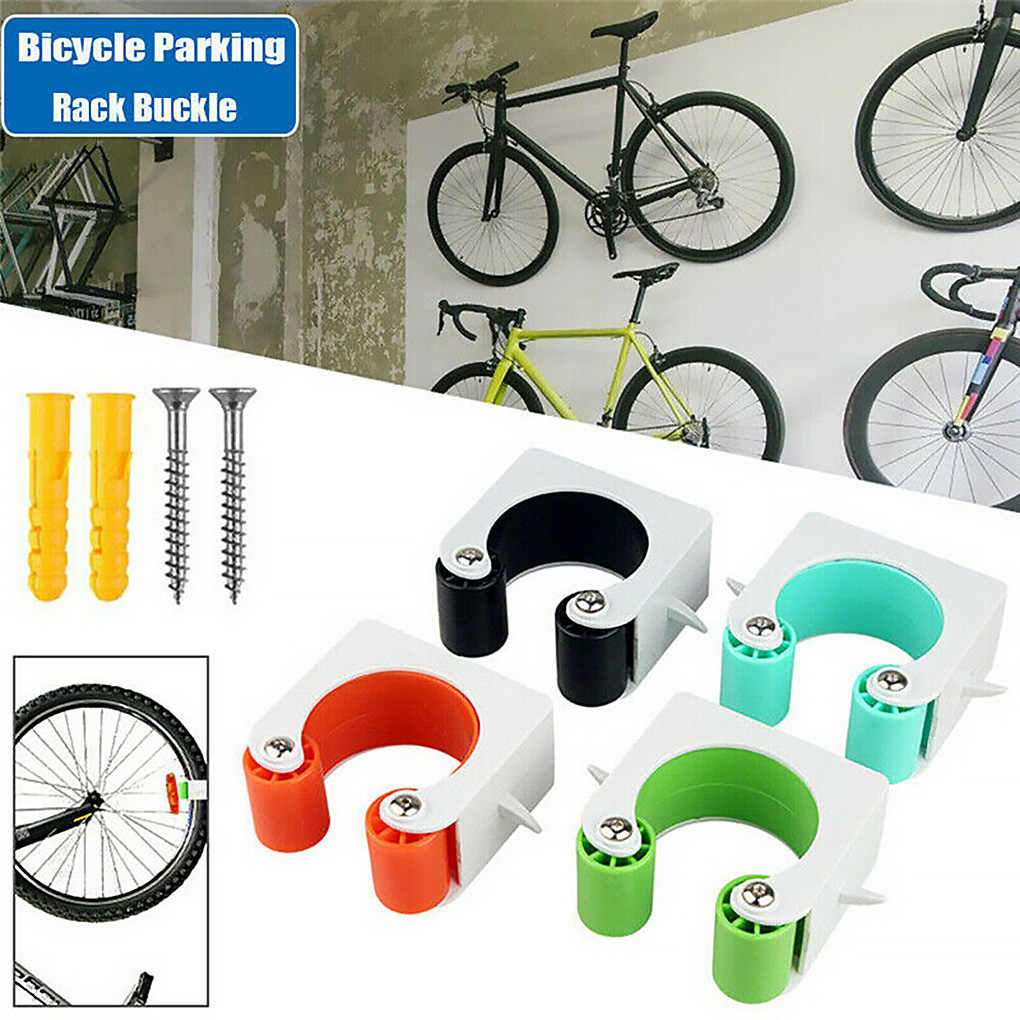 Portable Bicycle Wall Mount Hook Indoor Road Bike Parking Buckle Wall Rack Stand