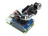 Waveshare 2 DOF Pan Tilt CAPPELLO per Raspberry Pi Lintensità Della Luce di Rilevamento I2C Interfaccia PCA9685 di chip PWM TSL2581 sensore di luce