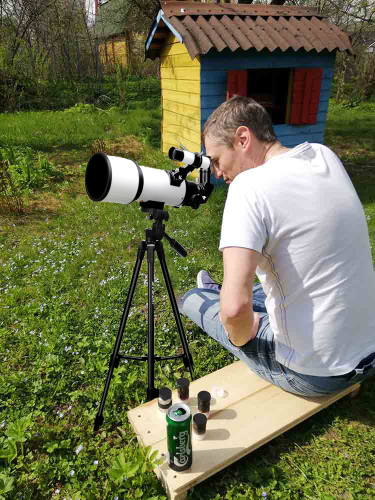 Svbony Astronomical Telescope Tripod Refractive 60420 60mm Wide-Angle Powerful Have High-Quality