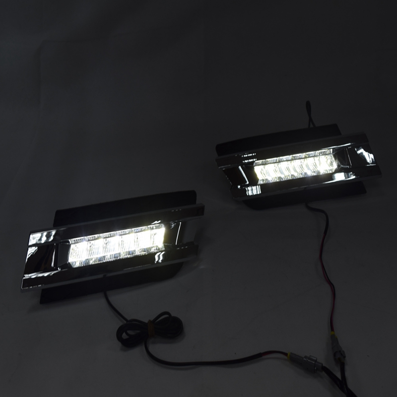 LED feux de jour feu antibrouillard 12V voiture feux de circulation pour Mercedes W164 GL320 GL350 GL420 GL450 GL550 2006-2009
