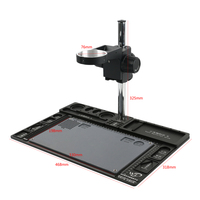 Big Multifunction Aluminum Alloy Stereo Microscope Adjustable Boom Table Working Stand Holder