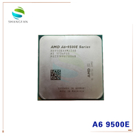 AMD A6 Series A6 9500 A6 9500E 3.5 GHz Dual Core CPU 35W Processor AD9500AHM23AB AD950BAHM23AB Socket AM4