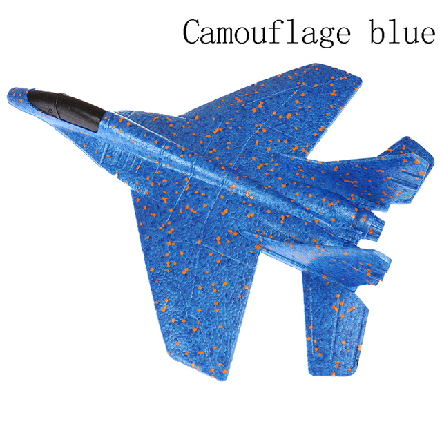 1pc DIY Hand Throwing Model Airplane Foam Aircraft Planes Toys For Children Kids Toys