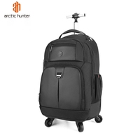 Arctic Hunter travel Trolley Bags wheeled backpack carry on hand Luggage bags men Rolling backpack on wheels Trolley Suitcase