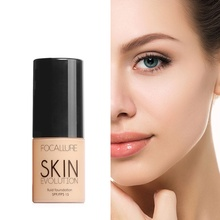 FOCALLURE Makeup Base Face Liquid Foundation BB Cream Concealer Whitening Moisturizer Oil-control Waterproof Maquiagem