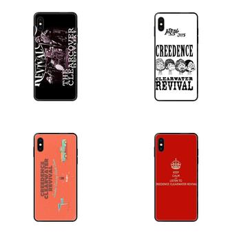 For Huawei Honor 6A 7A 7X 8C 8X 9 9A 9I 9X 10 10I 20 20I 20S Lite Pro Soft TPU Black Cool Best Creedence Clearwater Revival image