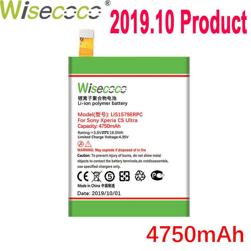 Wisecoco 4750mAh LIS1579ERPC بطارية لسوني اريكسون Z3 + Z4 Z3 Neo SO-03G C5 UltraDual E5506 E5553 E5533 E5563 Z3 زائد E6553