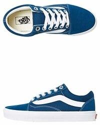 Vans Scarpe Basse Sneakers Unisex Blu (Old-Skool)