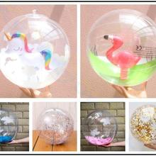 Volleyball Balloon Water-Toys Sequin Inflatable Sports-Playing Photo-Props Gold-Powder