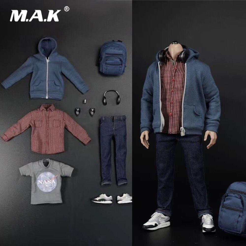 """GANGHOOD 1//6 Scale Spider-Man Peter Parker Jeans Model For 12/"""" Figure"""