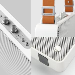 Image 3 - GGMM Outdoor/Indoor Bluetooth Speaker Portable Wireless HiFi Stereo Speaker 20W Powerful Loudspeaker 4 Driver Sound Box With Mic