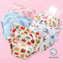 Baby Reusable Cloth Diaper Ecological Potty Training Pants Diapers For Children Panties Cotton Waterproof Nappy Newborn Washable