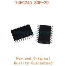 10 шт. 74HC245 SOP-20 SN74HC245DWR HC245 74HC245D SOP20 7,2 мм SOIC-20 SOIC20 SMD новый и оригинальный чипсет IC