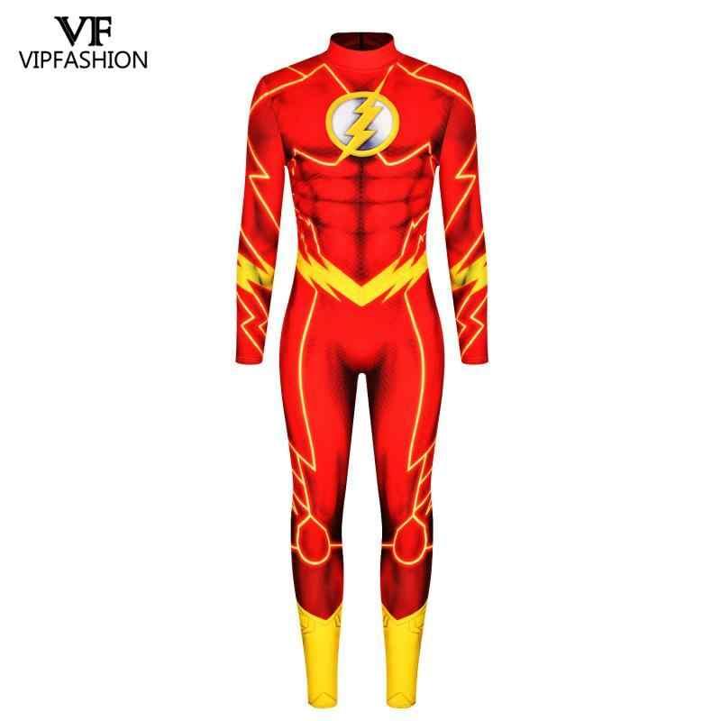 VIP di MODO DC Comic Movie Green Lantern Costume Zentai del Supereroe flash Muscolo di Carnevale Costumi di Halloween Per Gli Uomini Adulti