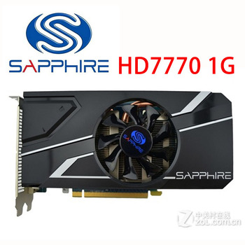 SAPPHIRE HD7770 1GB Video Cards GDDR5 128bit Graphics Card For AMD 7700 series Radeon HD 7770 HD 7770 1G HDMI DVI VGA Used 1