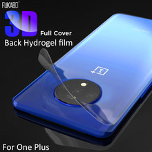 Back Hydrogel Film For Oneplus 7 7T Pro 6 6T Full Cover Screen Protector For One Plus 6 7 7T Pro Transparent Soft Film Not Glass(China)