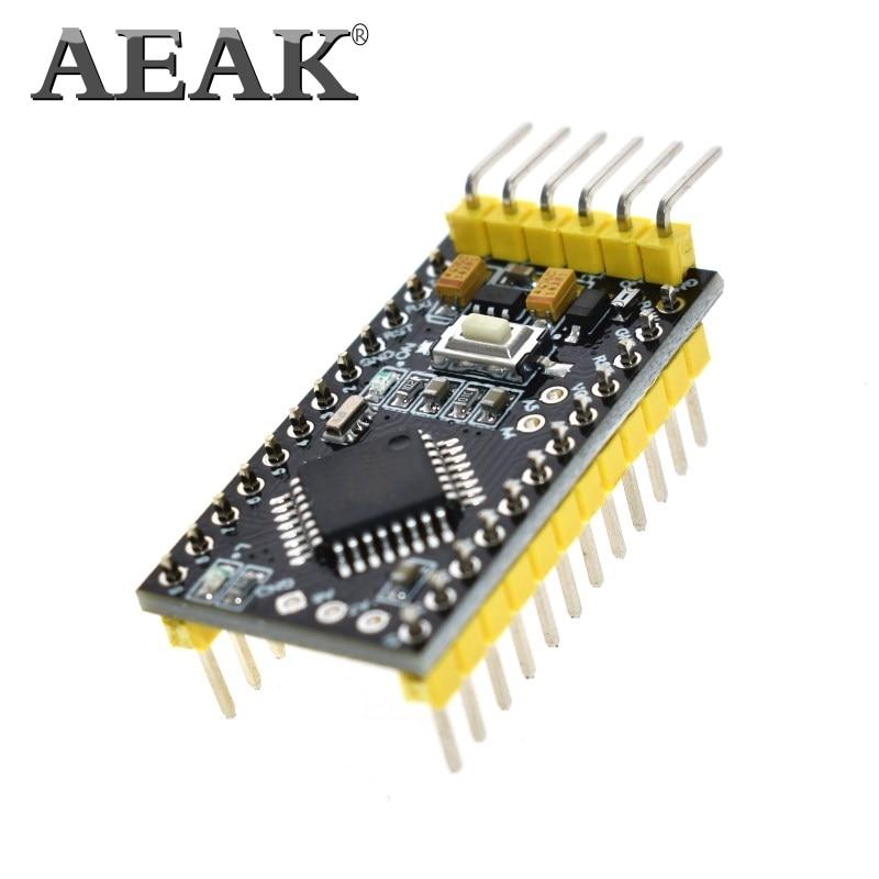 AEAK Pro Mini ATMEGA328P 328 Mini ATMEGA328 5V 16MHz for arduino Nano Microcontrol Micro Control Board